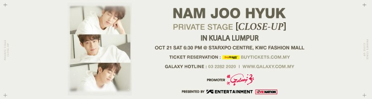 Nam Joo Hyuk Private Stage CLOSE-UP KL