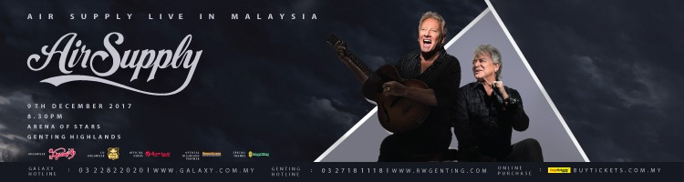 Air Supply Live In Malaysia 2017