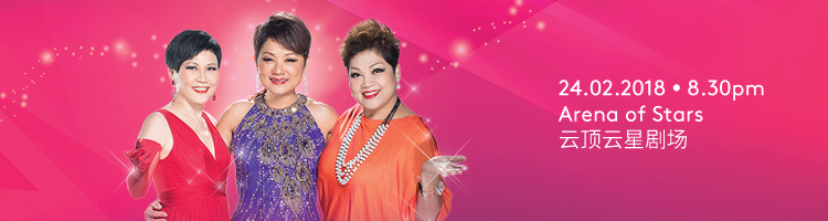 3 Asian Divas Live in Genting 2018