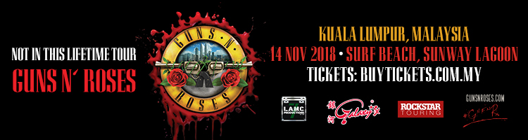 Guns N Roses Not In This Lifetime Tour In KL