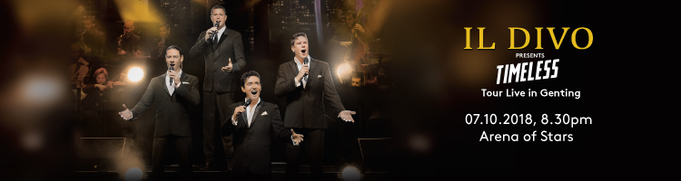 IL Divo Timeless Tour Live in Genting